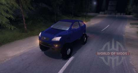 Ford Focus 2 OffRoad для Spin Tires
