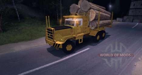 Hayes HQ 142 (HDX) Logging Truck для Spin Tires