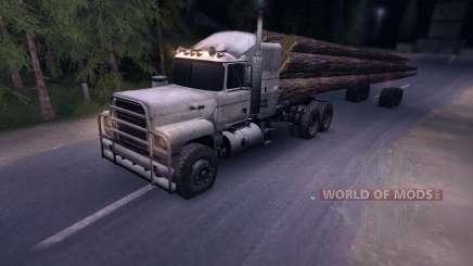 Лесовоз MACK для Spin Tires