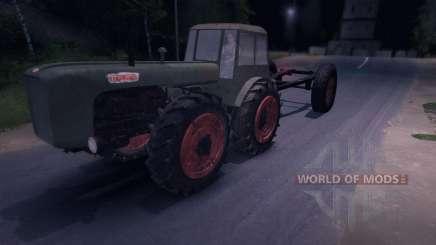 Dutra D4K with Trailer для Spin Tires