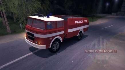 LIAZ (Skoda) 706 RT - old firetruck для Spin Tires