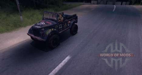 ГАЗ-69 Off Road Edition для Spin Tires