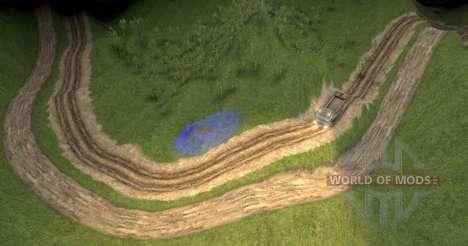 Карта Экстремальные грузовые приключения для Spin Tires