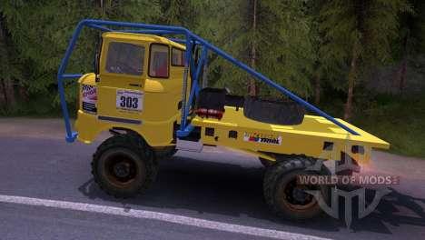 IFA W50 Truck Trial для Spin Tires