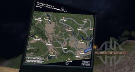 Карта ДОЛГАЯ ДОРОГА для Spin Tires