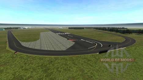 Локация TopGear Track для BeamNG Drive