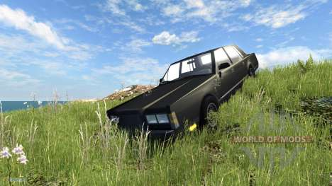 Lincoln Town Car 1985 для BeamNG Drive