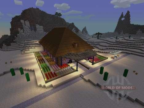 SimCraft - декорации в высоком разрешении для Minecraft