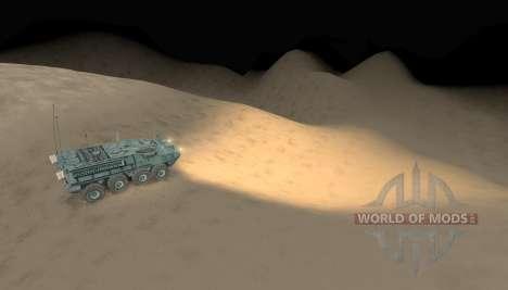 Карта -Пустыня- для Spin Tires