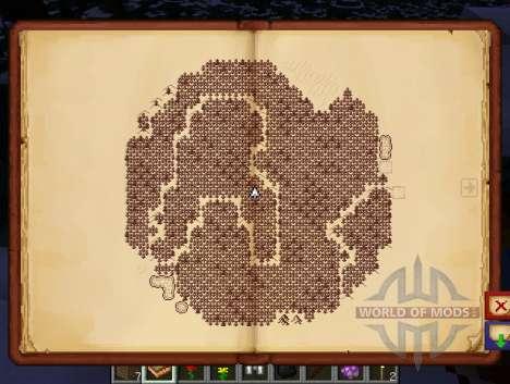 Antique Atlas для Minecraft