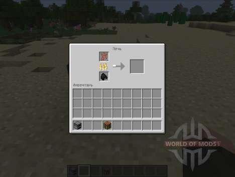 Yet Another Leather Smelting - гнилая плоть для Minecraft