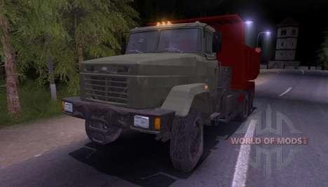 КрАЗ-65055 для Spin Tires