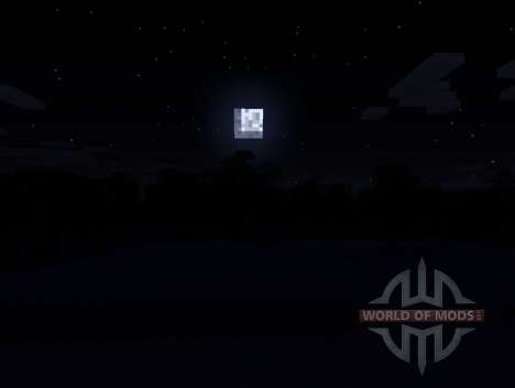 Advanced Darkness - тёмные ночи для Minecraft