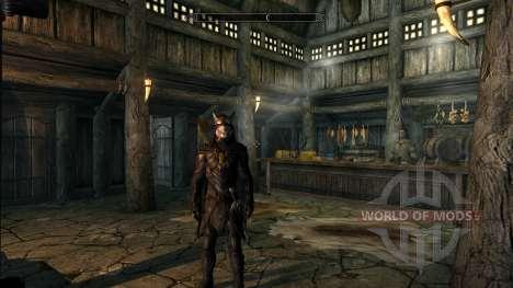 Открытые глаза для Соловьиной брони для Skyrim второй скриншот
