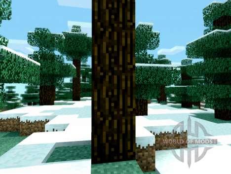 Time shift - необычный шейдер для Minecraft