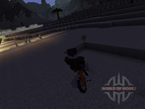 PokeCycle Mod - велосипеды для Minecraft