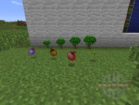 Berry Bush - ягодные кусты для Minecraft
