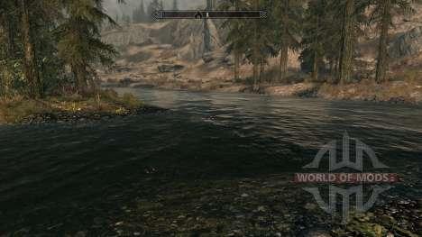 Pure waters - мод, улучшающий воду для Skyrim второй скриншот