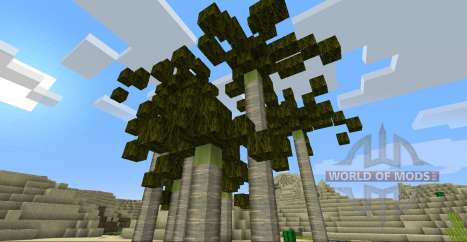 TooManyBiomes для Minecraft
