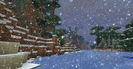 AllSnowMod для Minecraft