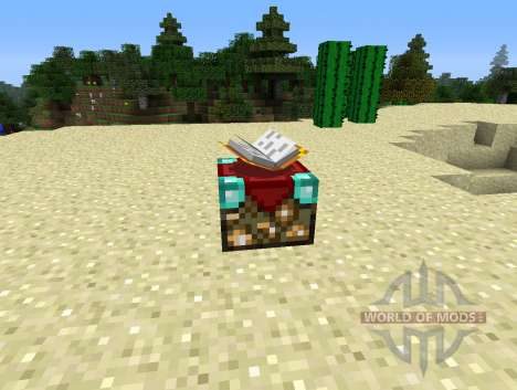 UnchantmentTable - стол для снятия зачарования для Minecraft