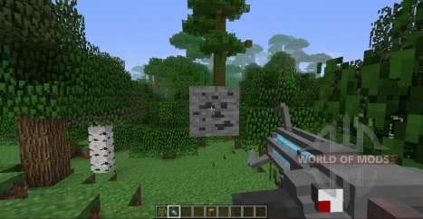 Гравитационная пушка для Minecraft