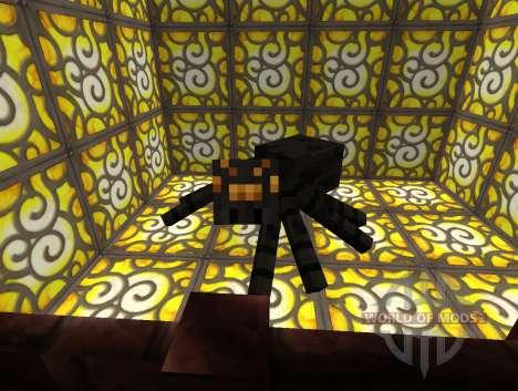 Ore Spiders Mod для Minecraft