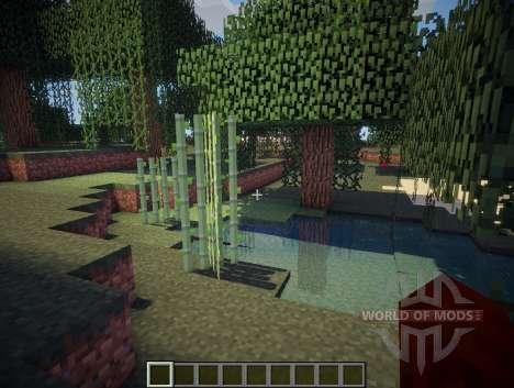 Chocapic V3 Ultra шейдер для Minecraft