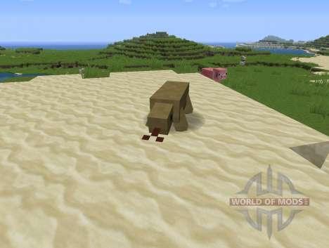 Reptile Mod для Minecraft