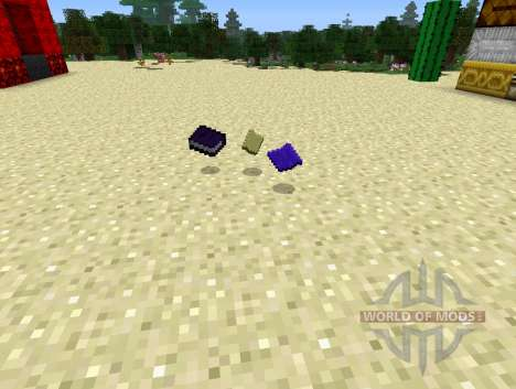 Warp Book - книга телепортации для Minecraft