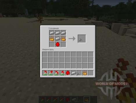 Magma Item - вещи из магмы для Minecraft