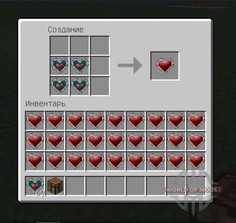 More Health Enhanced для Minecraft