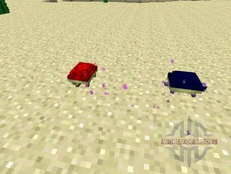 Turtles - черепахи для Minecraft