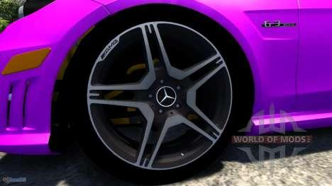 Mercedes-Benz E63 для BeamNG Drive