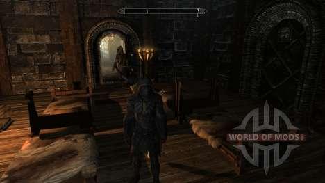 Улучшенное зачарование соловьиной брони для Skyrim