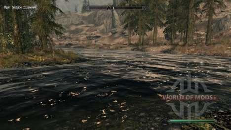 Pure waters - мод, улучшающий воду для Skyrim