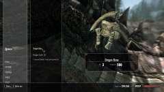 Снижение веса драконих костей