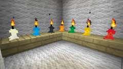 Candles - свечи для Minecraft
