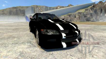 Mitsubishi Lancer Evolution VIII 2003 для BeamNG Drive