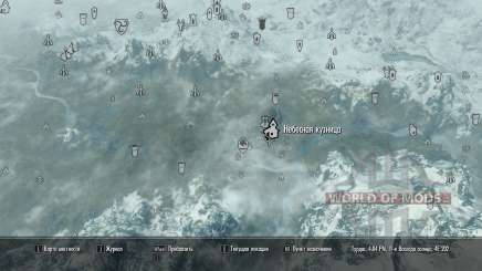 More map markers для Skyrim