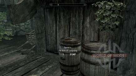 Книга прокачки взлома для Skyrim