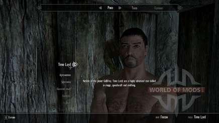 Раса повелителей времени для Skyrim