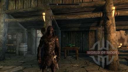 Открытые глаза для Соловьиной брони для Skyrim