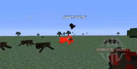 Прирученная летучая мышь для Minecraft