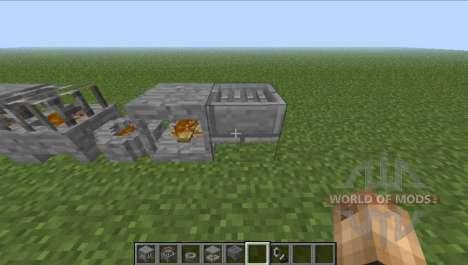 Камины для Minecraft