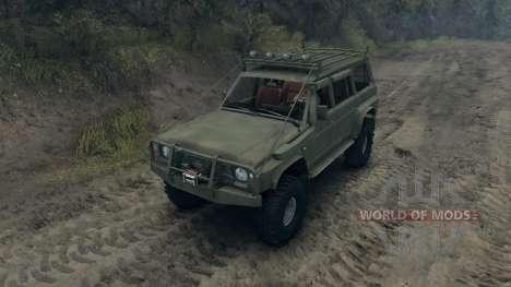 Nissan Patrol Y60 v2.0 для Spin Tires