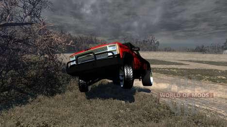 Gavril D-Series Powerful Drag для BeamNG Drive