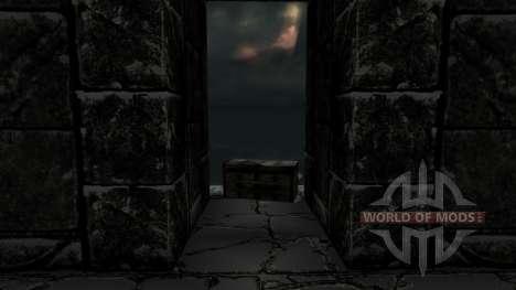 Комплект брони довакина для Skyrim второй скриншот