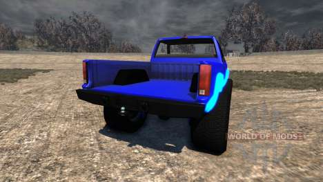 Gavril D-Series Neon Monster для BeamNG Drive