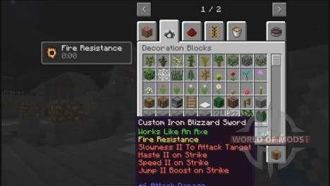 Создай свой меч для Minecraft